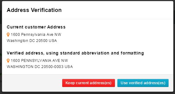 USPS Address Verify & Standardize Formatting – SupportPro Help